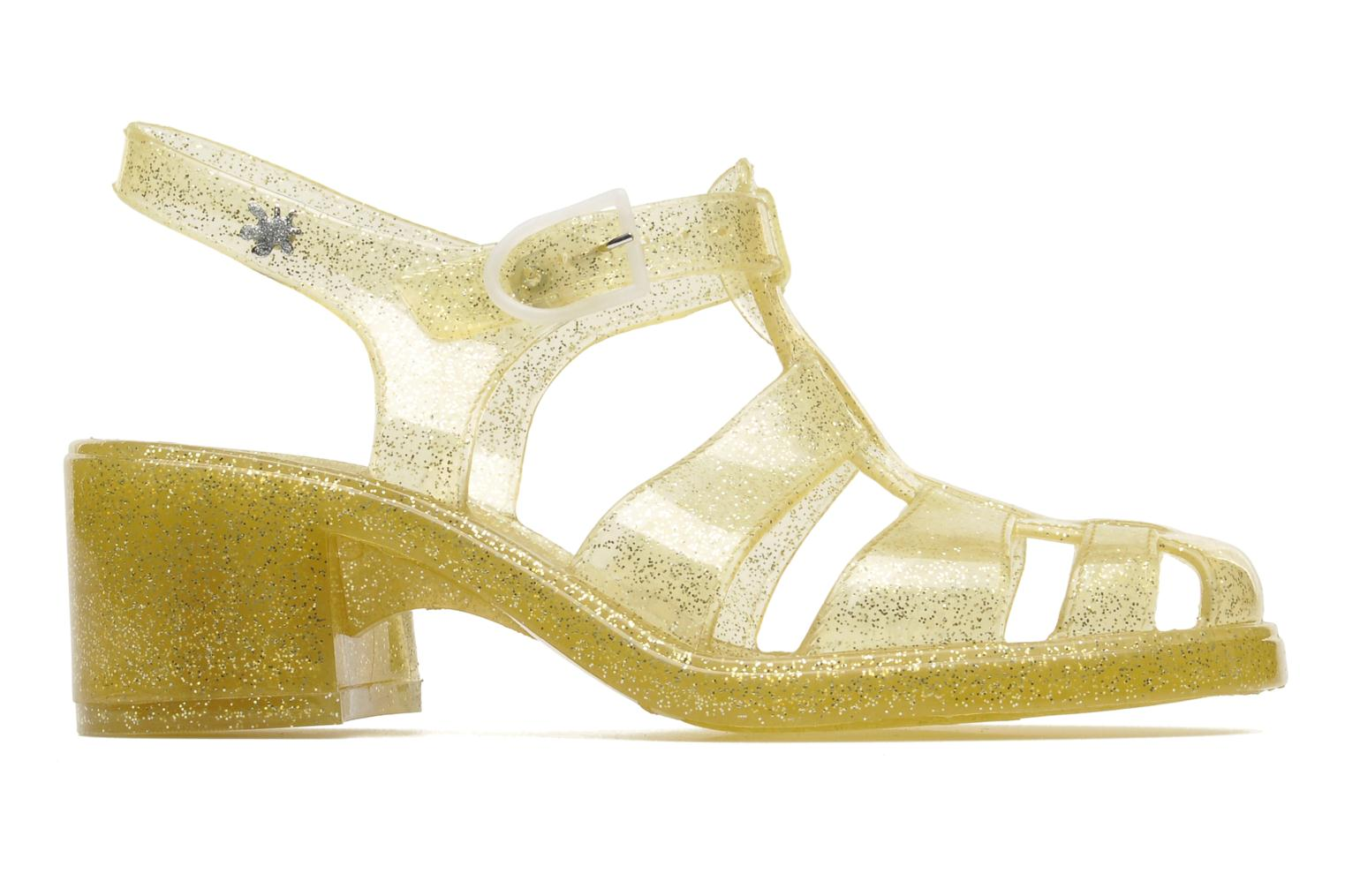 Sandals Méduse Nikita Bronze and Gold back view