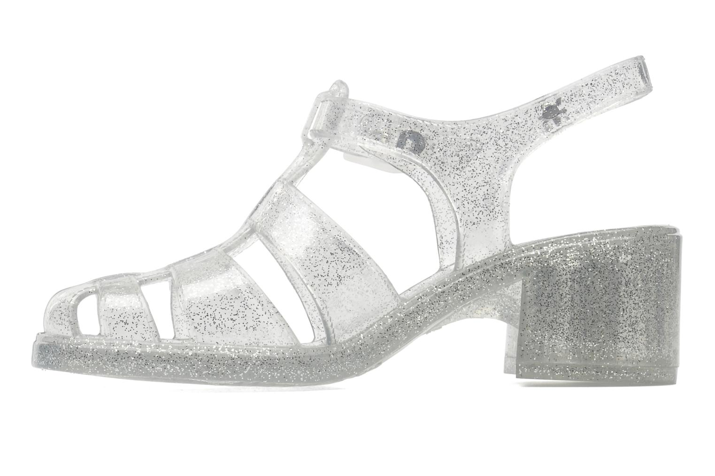 Sandales et nu-pieds Méduse Nikita Argent vue face