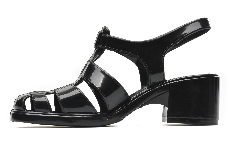 Sandales et nu-pieds Méduse Nikita Noir vue face