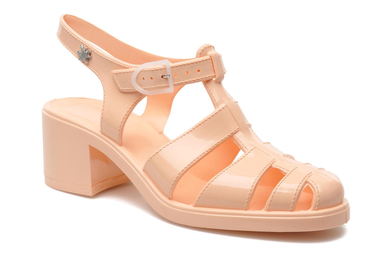 Sandaler Méduse Nikita Orange detaljeret billede af skoene