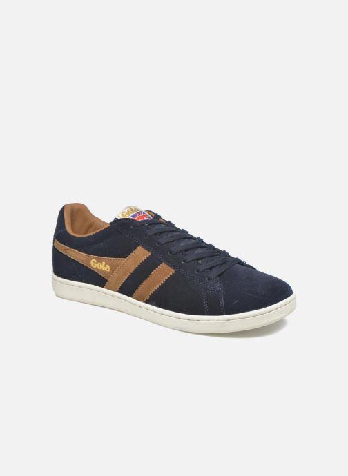Sneakers Gola Equipe Suede Blå detaljeret billede af skoene