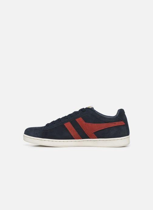 Sneakers Gola Equipe Suede Blauw voorkant