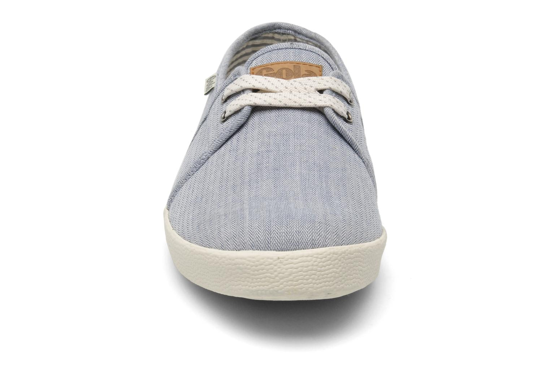 Baskets Gola Caldwell Bay Gris vue portées chaussures
