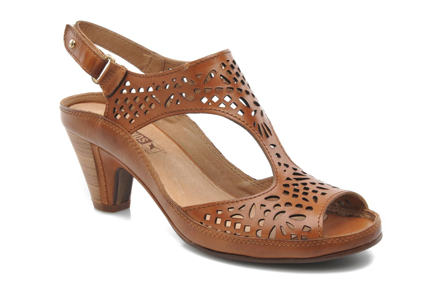 Sandals Pikolinos Java W5A-0744 Brown detailed view/ Pair view