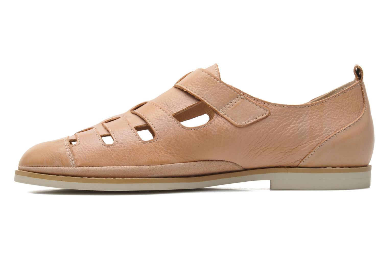 Sandales et nu-pieds Pikolinos Santorini W1B-1517KR Beige vue face