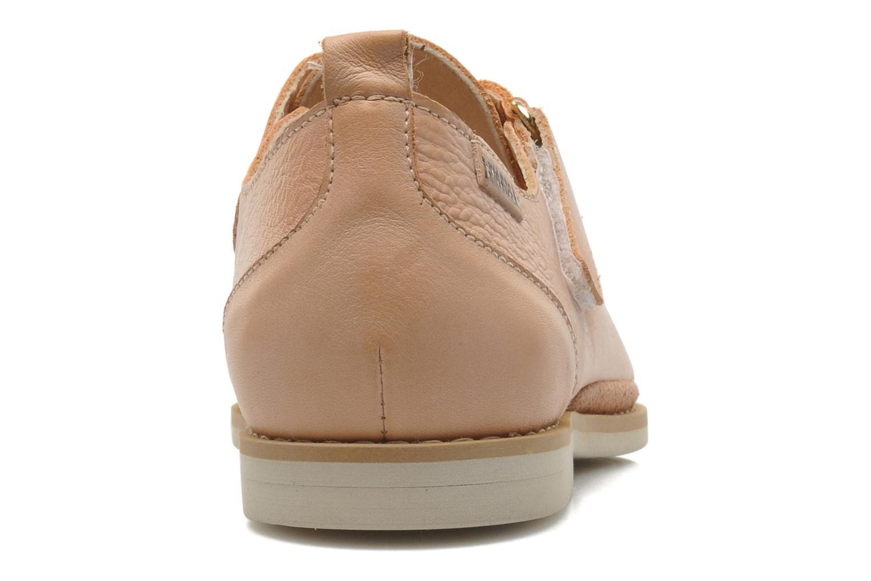 Sandales et nu-pieds Pikolinos Santorini W1B-1517KR Beige vue droite