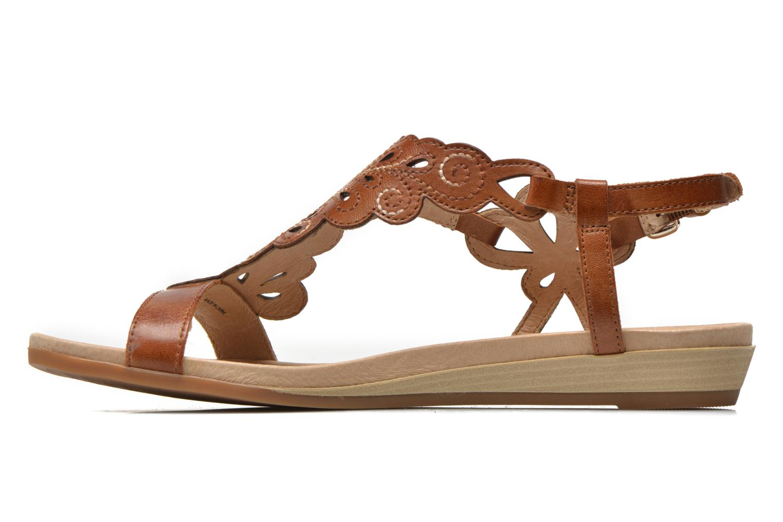 Sandales et nu-pieds Pikolinos Alcudia 816-0501 Marron vue face
