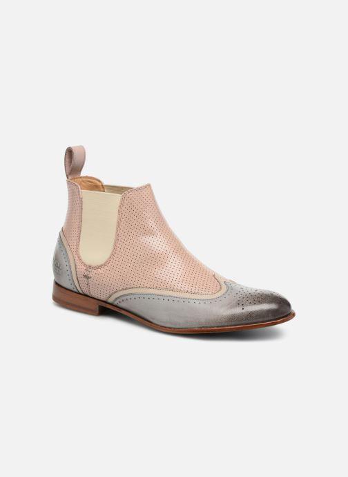 Boots en enkellaarsjes Melvin & Hamilton Sally 19 Beige detail