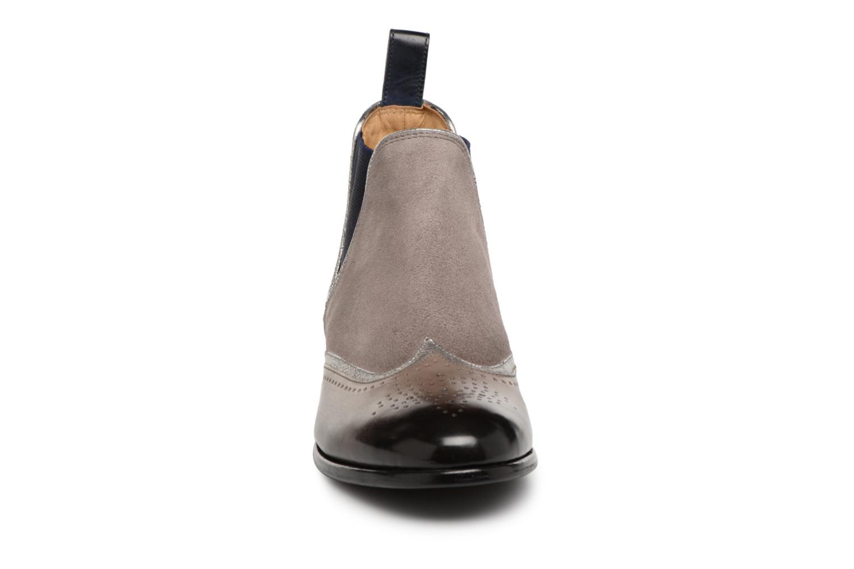 Stiefeletten & Boots Melvin & Hamilton Sally 19 grau schuhe getragen