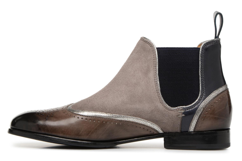 Stiefeletten & Boots Melvin & Hamilton Sally 19 grau ansicht von vorne