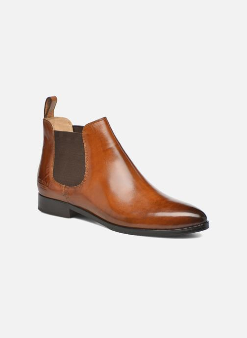 Ankle boots Melvin & Hamilton Jessy 1 Brown detailed view/ Pair view