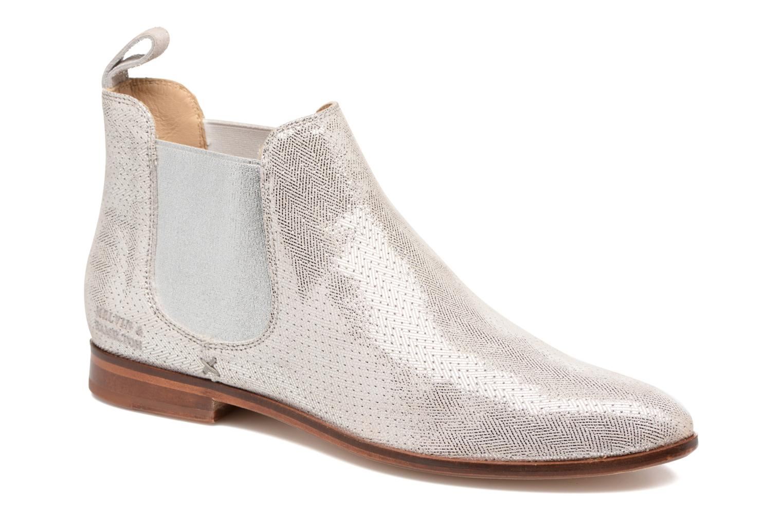 Bottines et boots Melvin & Hamilton Jessy 1 Beige vue détail/paire