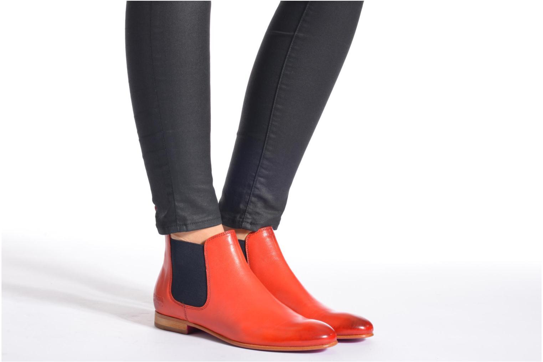 Bottines et boots Melvin & Hamilton Sally 25 Noir vue bas / vue portée sac