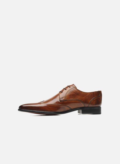 Lace-up shoes Melvin & Hamilton Toni 2 Brown front view