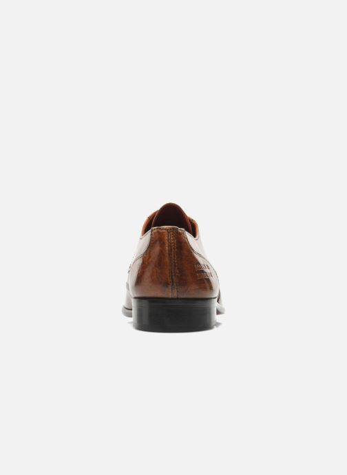 Lace-up shoes Melvin & Hamilton Toni 2 Brown view from the right