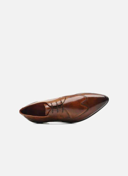 Lace-up shoes Melvin & Hamilton Toni 2 Brown view from the left
