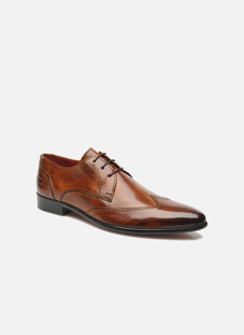 Lace-up shoes Melvin & Hamilton Toni 2 Brown detailed view/ Pair view