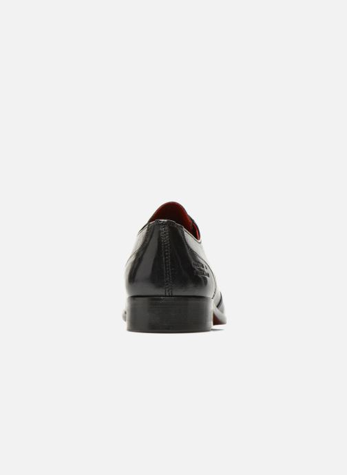 Zapatos con cordones Melvin & Hamilton Toni 2 Negro vista lateral derecha