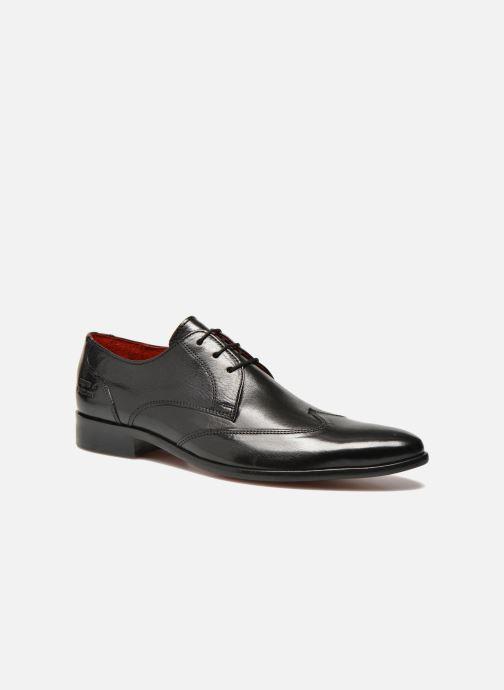 Zapatos con cordones Melvin & Hamilton Toni 2 Negro vista de detalle / par