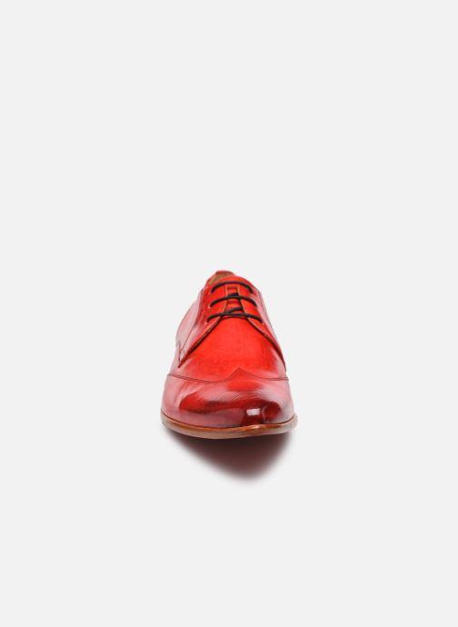 Chaussures à lacets Melvin & Hamilton Toni 2 Rouge vue portées chaussures
