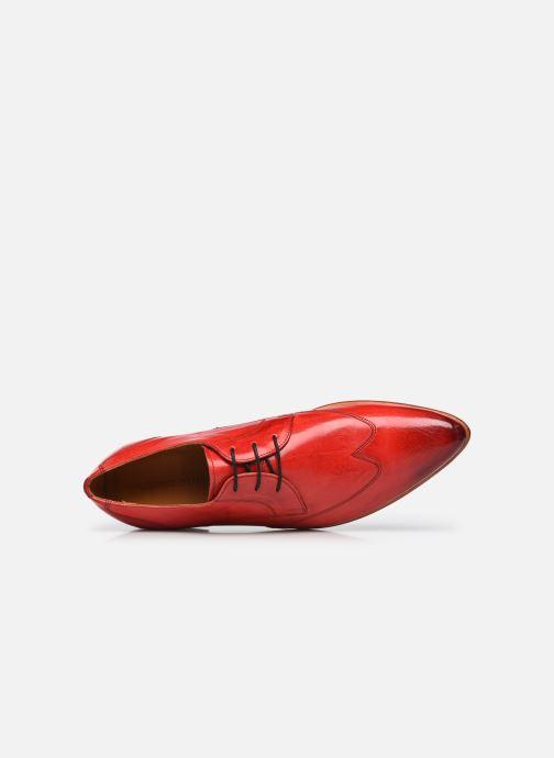 Chaussures à lacets Melvin & Hamilton Toni 2 Rouge vue gauche