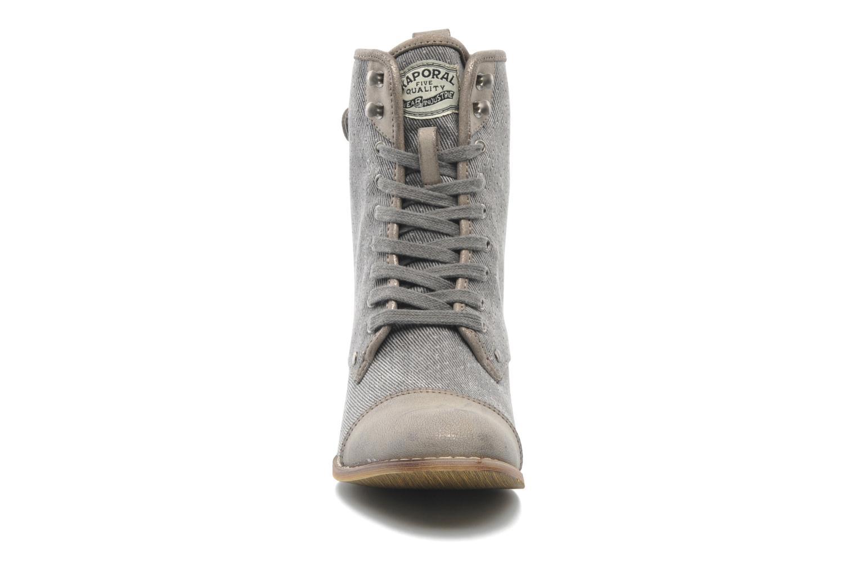 Bottines et boots Kaporal Bishop Gris vue portées chaussures