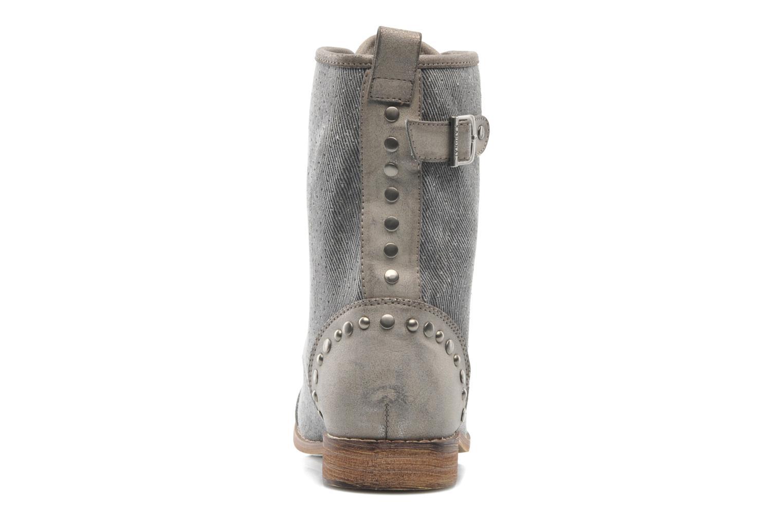 Bottines et boots Kaporal Bishop Gris vue droite