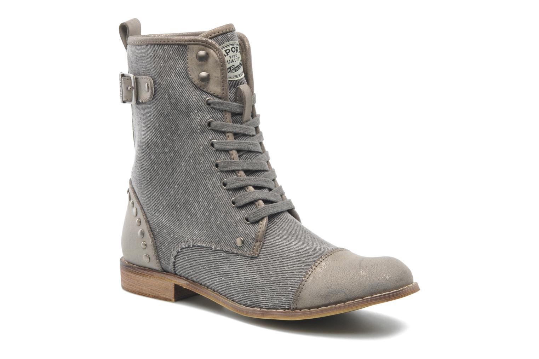 Bottines et boots Kaporal Bishop Gris vue détail/paire