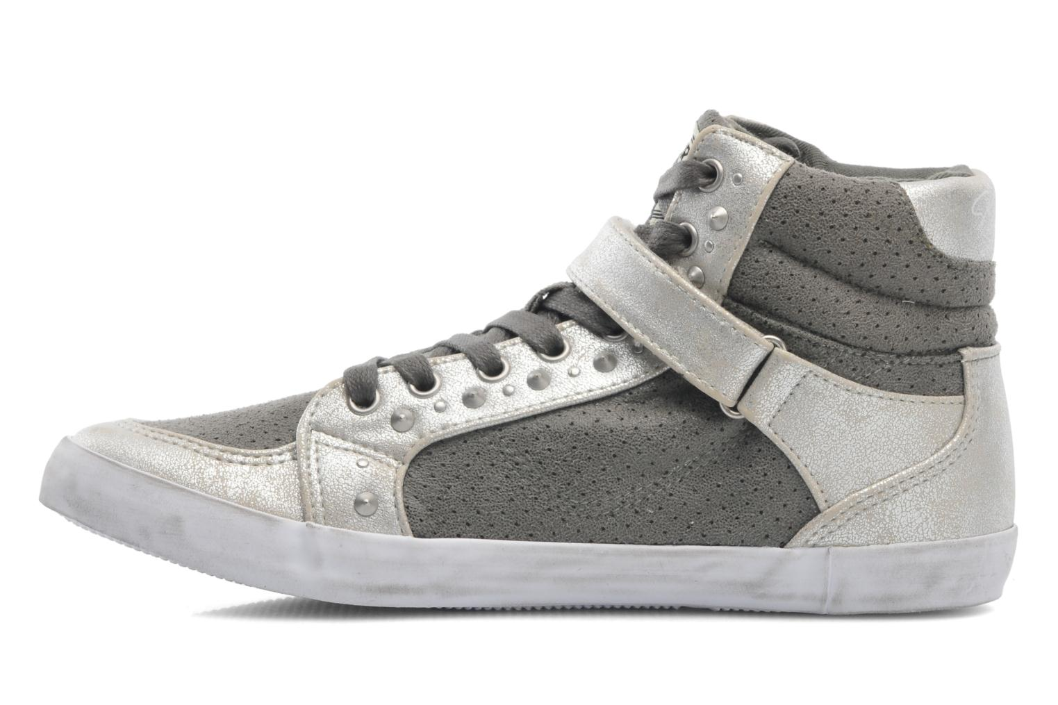 Trainers Kaporal Snatchy Grey front view