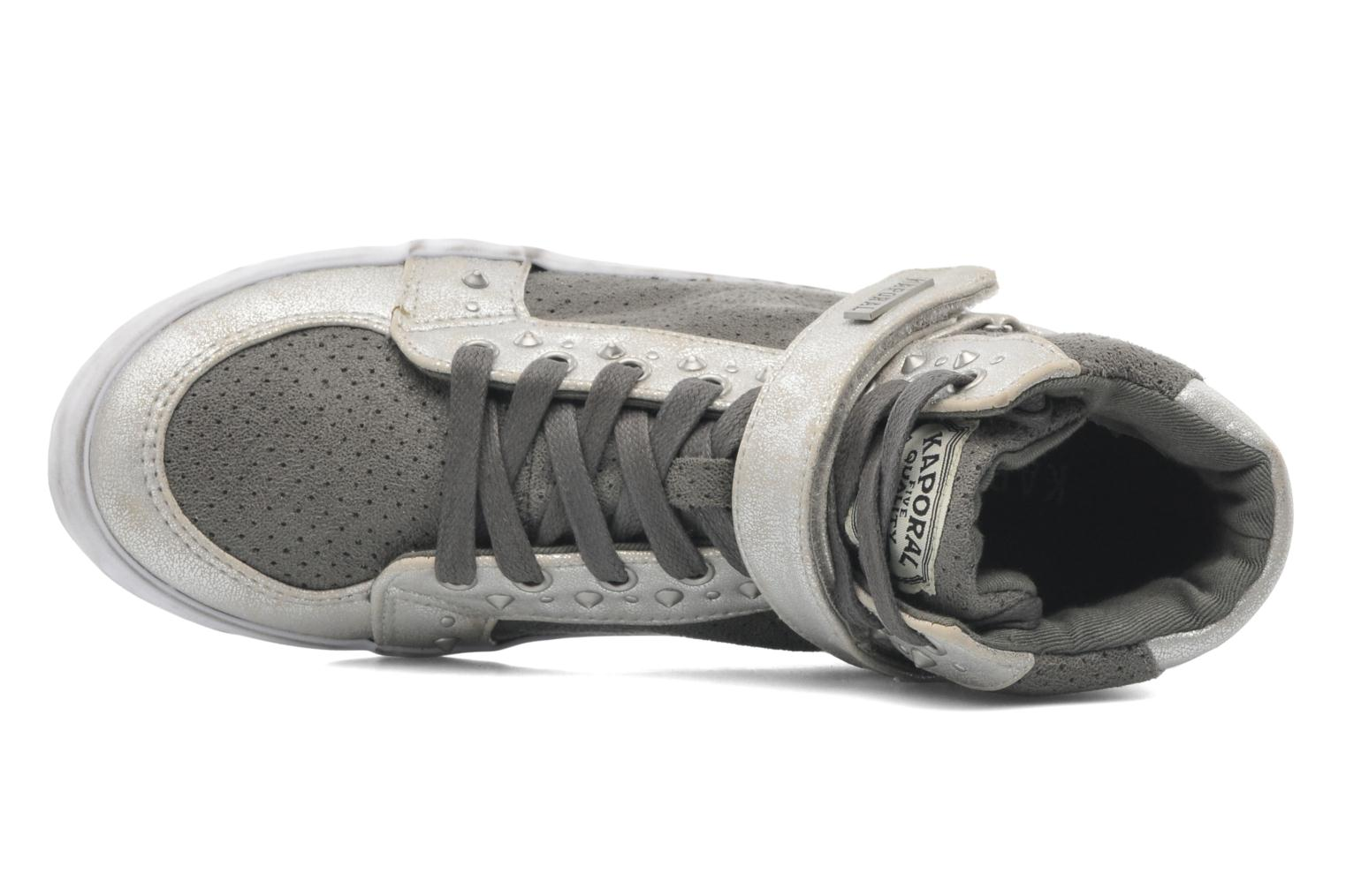 Trainers Kaporal Snatchy Grey view from the left