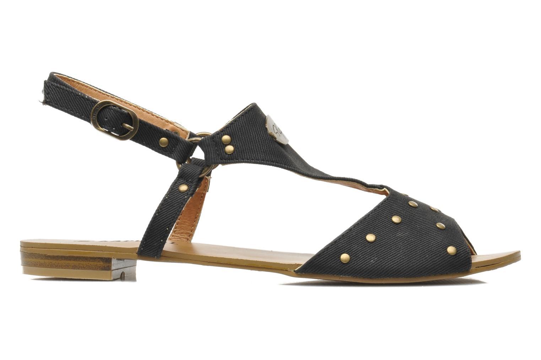 Sandales et nu-pieds Kaporal Paddy Noir vue derrière