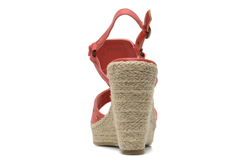 Sandales et nu-pieds Kaporal Ronny Rouge vue droite