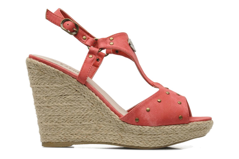Sandales et nu-pieds Kaporal Ronny Rouge vue derrière