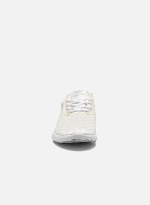 Sneaker Supra Hammer run W weiß schuhe getragen