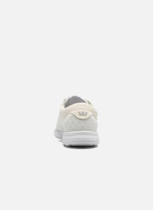 Sneaker Supra Hammer run W weiß ansicht von rechts