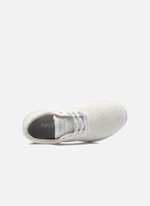 Sneaker Supra Hammer run W weiß ansicht von links