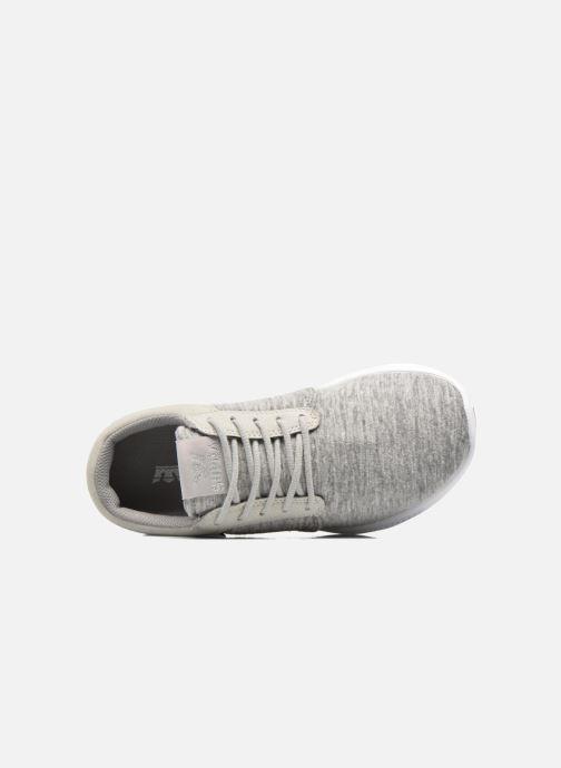 Sneaker Supra Hammer run W grau ansicht von links