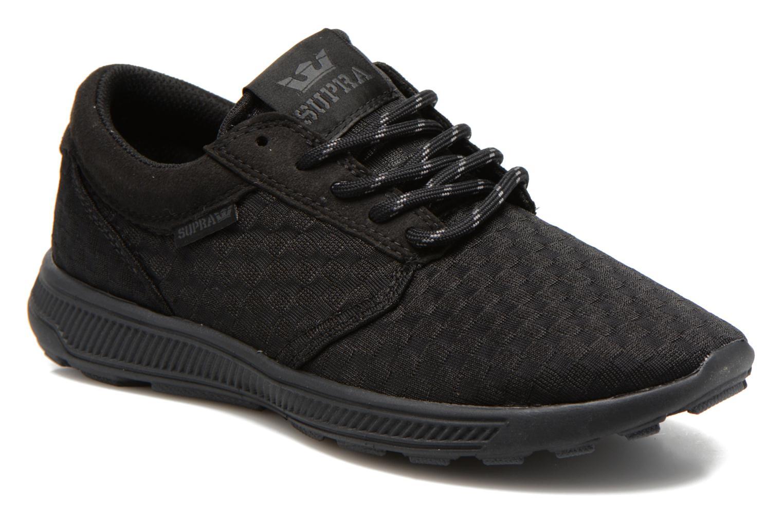 Sneakers Supra Hammer run W Sort detaljeret billede af skoene