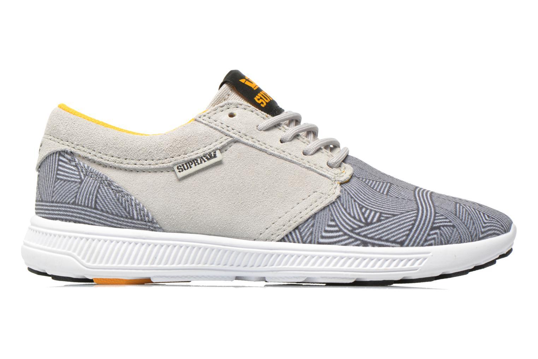 Sneaker Supra Hammer run W grau ansicht von hinten