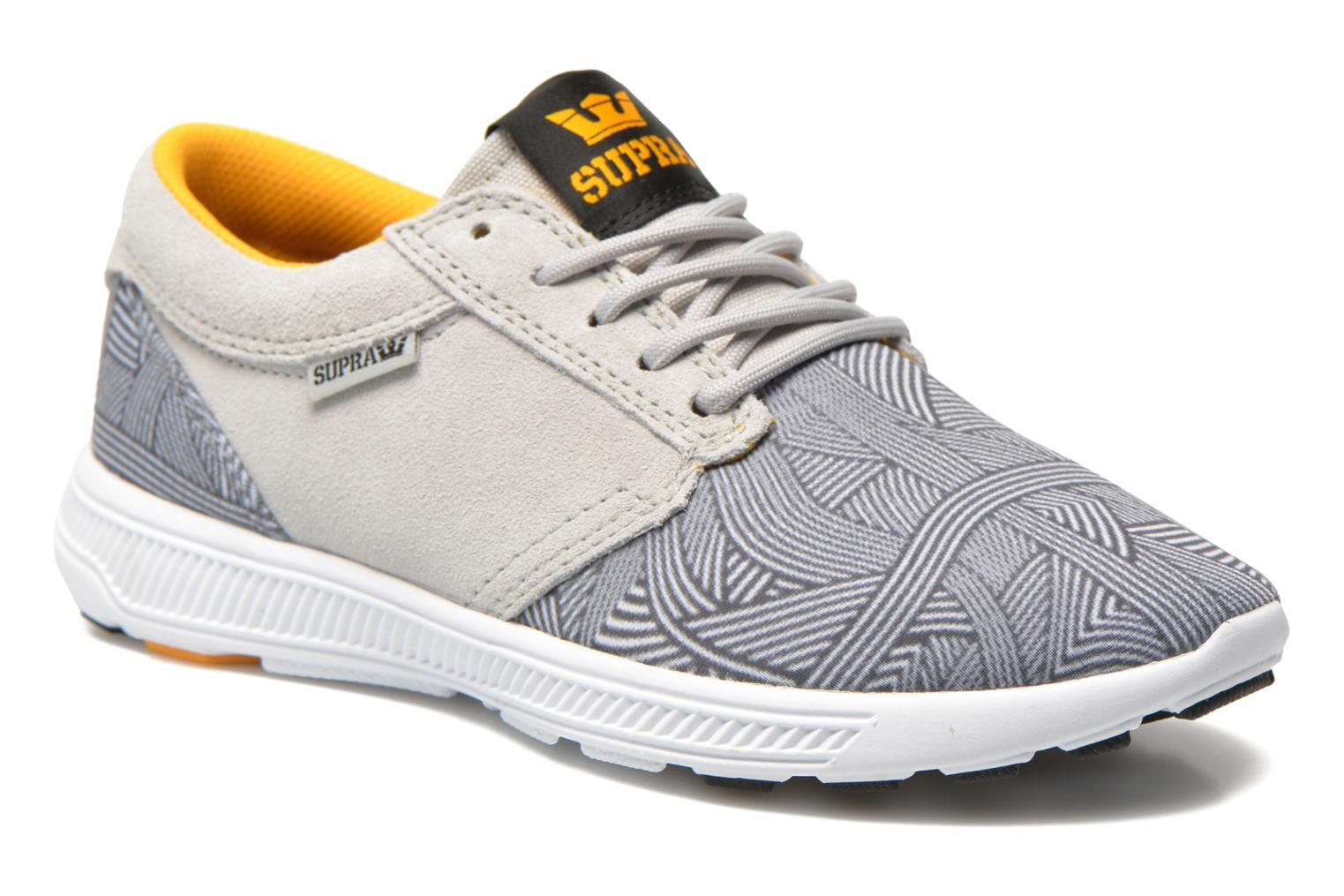Baskets Supra Hammer run W Gris vue détail/paire