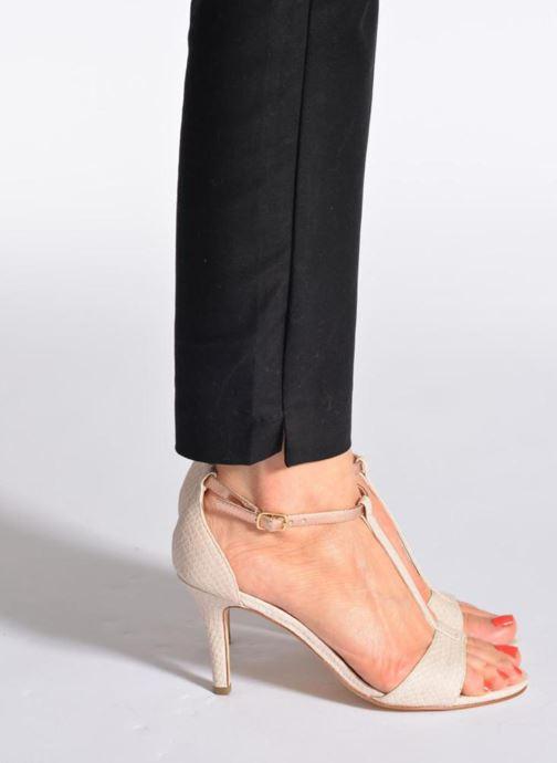 Sandalen Tamaris Marlon rosa ansicht von unten / tasche getragen