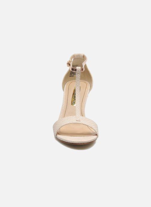Sandali e scarpe aperte Tamaris Marlon Rosa modello indossato