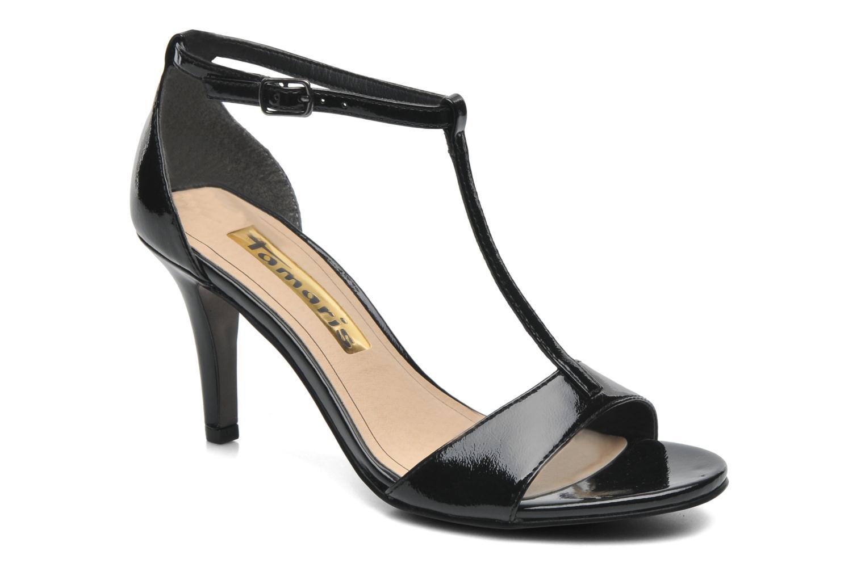 Sandaler Tamaris Marlon Sort detaljeret billede af skoene