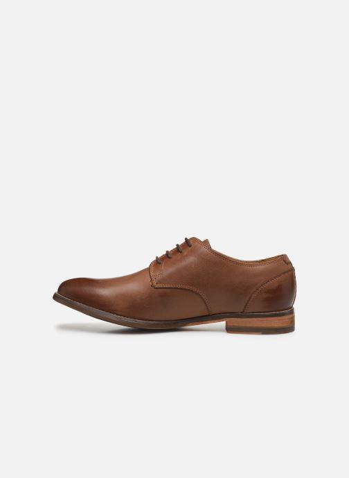 Zapatos con cordones Clarks Exton Walk Marrón vista de frente