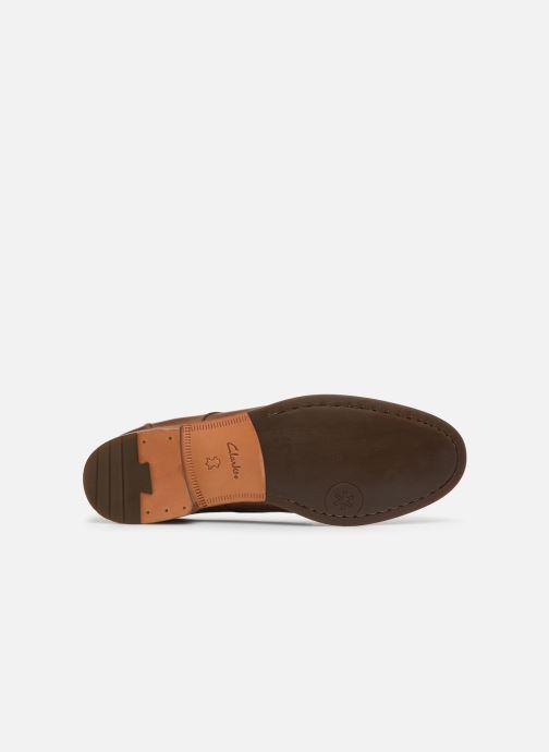 Zapatos con cordones Clarks Exton Walk Marrón vista de arriba