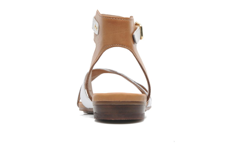 Sandales et nu-pieds Clarks Viveca Zeal Blanc vue droite
