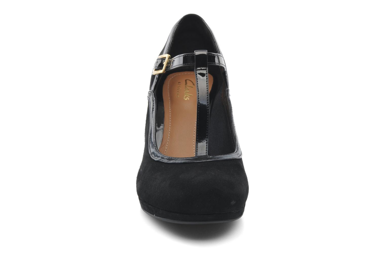 Escarpins Clarks Chorus Tempo Noir vue portées chaussures