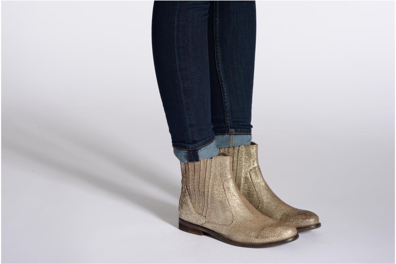 Bottines et boots Elle Etoile Argent vue bas / vue portée sac