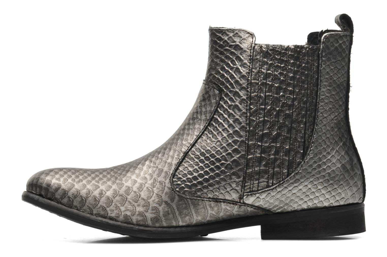 Ankle boots Elle Etoile Silver front view