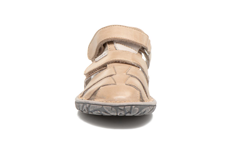 Sandales et nu-pieds Noël BOON Beige vue portées chaussures